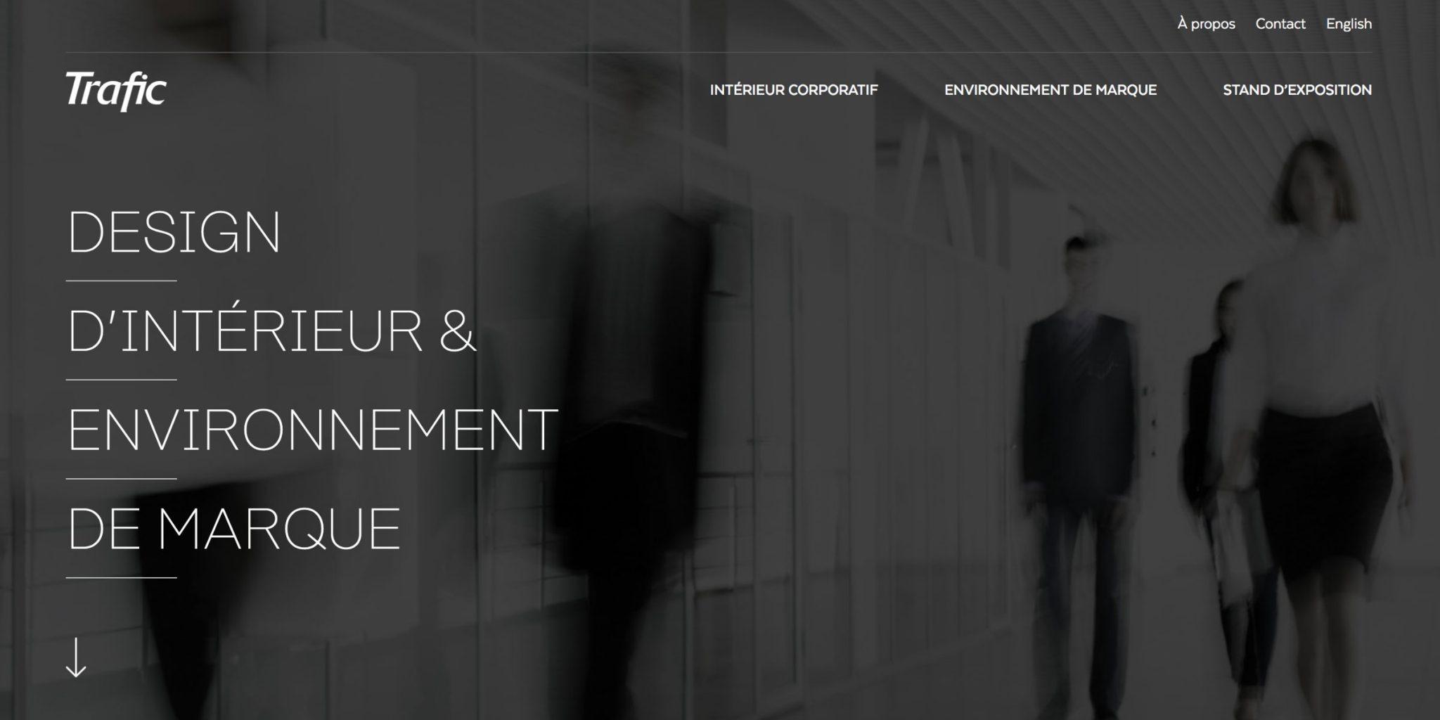 Trafic Design - Design d\'intérieur & environnement de marque